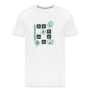 Welovesnow Memory Cards Tee - Männer Premium T-Shirt