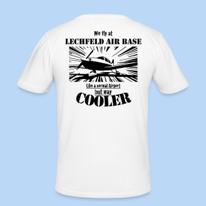 T-Shirt BOOM hell - Männer Slim Fit T-Shirt