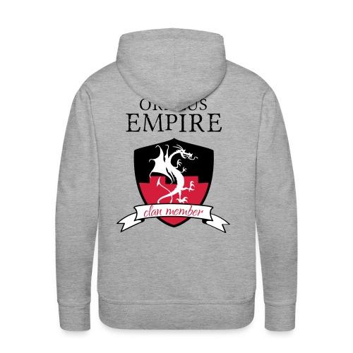 Clan member - Sweat-shirt à capuche Premium pour hommes
