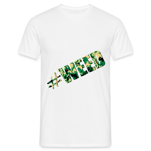 Das Hashtag Weed Shirt - Männer T-Shirt