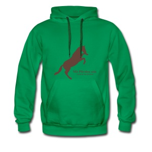 Jaward, Men Hoody ( Print: Digital Chocolate) - Männer Premium Hoodie