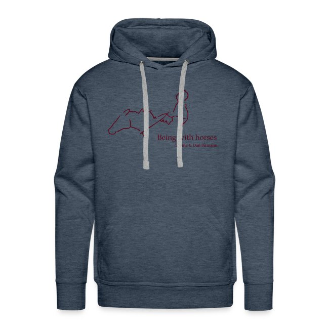 MPS Rider, Men Hoody ( Print: Burgundy)