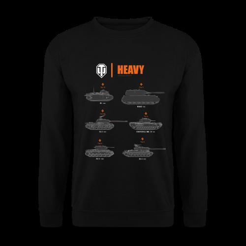 World of Tanks Heavy - Men's Sweatshirt