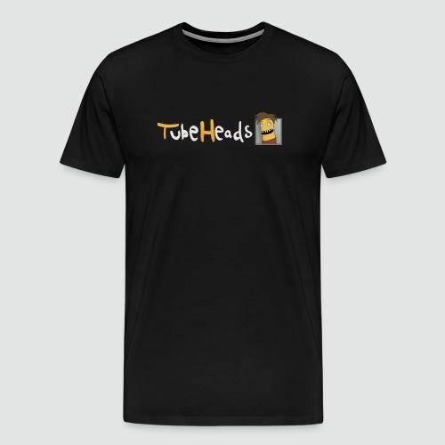Edel-T-Shirt mit schmalem TubeHeads Logo bis 5XL - Männer Premium T-Shirt