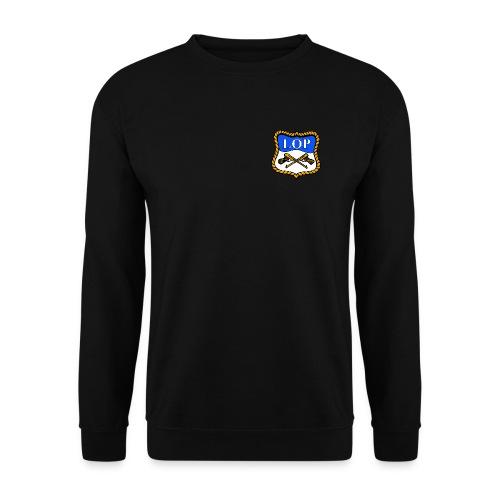 Sort genser med LOP logo - Genser for menn