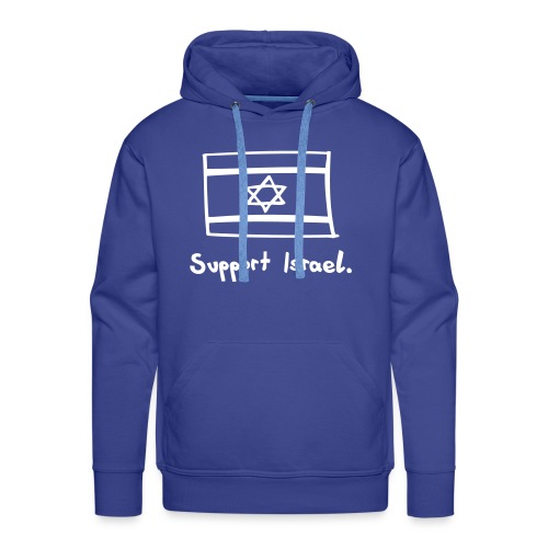 Support Israel. - Männer Premium Hoodie