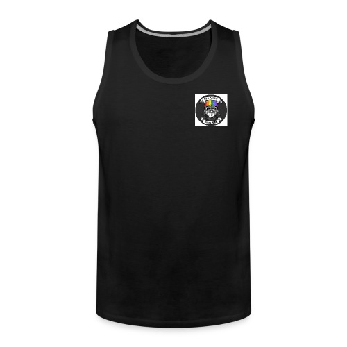 DOB New logo (small) tank top - Men's Premium Tank Top