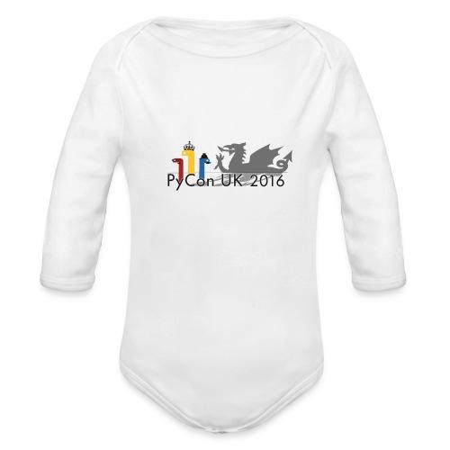 2016 Baby One-Piece - Organic Longsleeve Baby Bodysuit