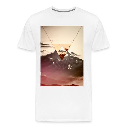 Siren Landscape Printed T-Shirt - Men's Premium T-Shirt