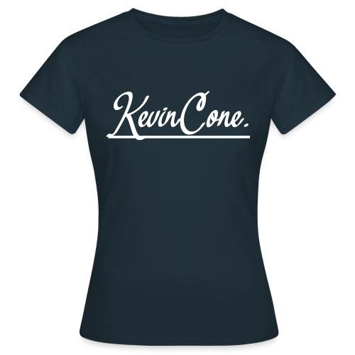 DAMEN KevinCone.-Shirt | Navy - Frauen T-Shirt