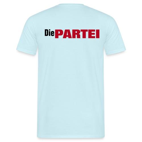 PARTEIhemd als Shirt - Männer T-Shirt