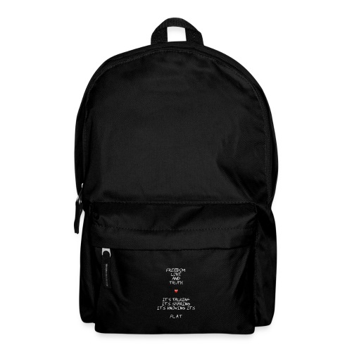 freedom love and truth backpack - Backpack