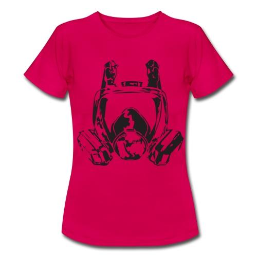Camiseta mujer - skate,mask,graffiti