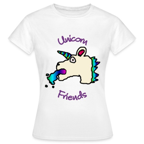 Unicorn Friends Original (Underpaid Female) - Women's T-Shirt