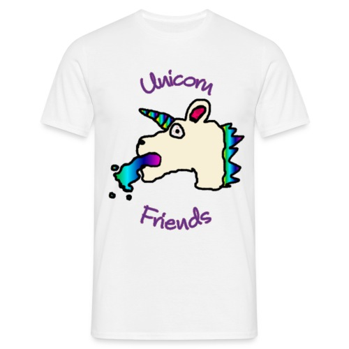 Unicorn Friends Original (Privileged Male) - Men's T-Shirt