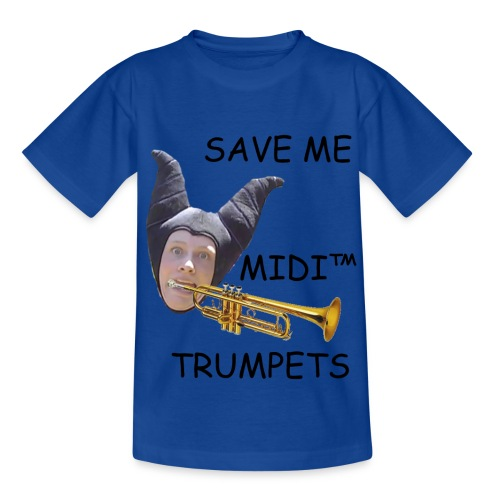 MIDI Trumpets (African Child) - Kids' T-Shirt