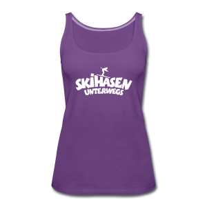 Skihasen unterwegs Tank Top - Frauen Premium Tank Top
