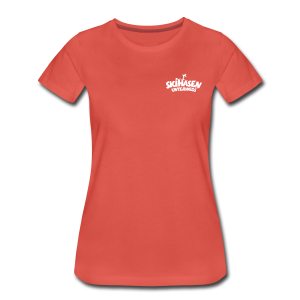 Skihasen unterwegs S-3XL T-Shirt - Frauen Premium T-Shirt