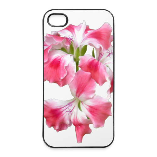 iPhone 4/4s Hard Case - Design Pelargonium grandiflorum by Amahy - iPhone 4/4s Hard Case
