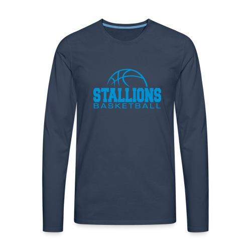 Stallions Männer Premium Langarmshirt - Männer Premium Langarmshirt
