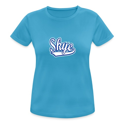 Women's Breathable Skye Blues Tee - Women's Breathable T-Shirt