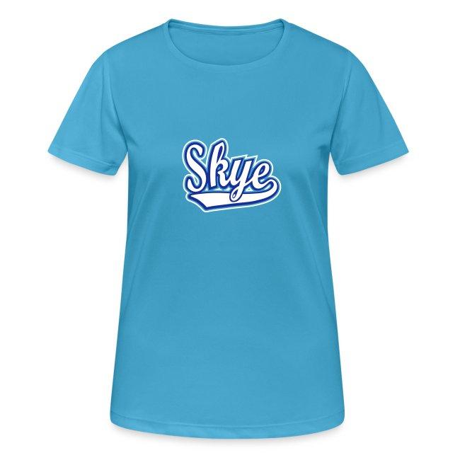 Women's Breathable Skye Blues Tee