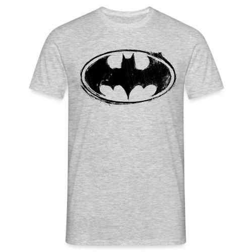 Batman Logo white milky - Männer T-Shirt