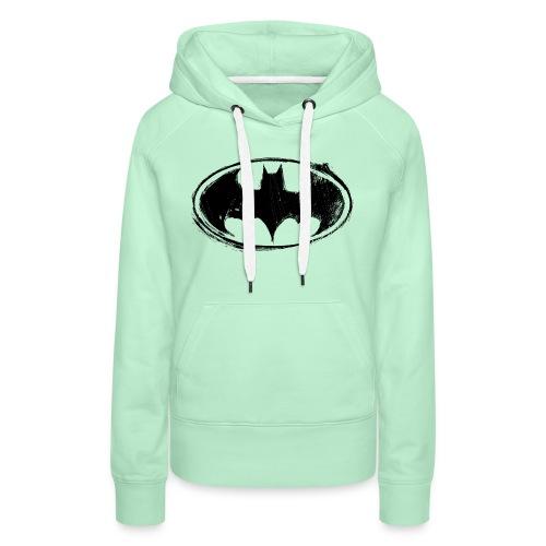 Batman Logo white milky - Frauen Premium Hoodie