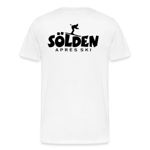 Sölden Après-Ski Skifahrer S-5XL T-Shirt - Männer Premium T-Shirt