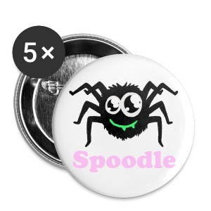 Spoodle Badges (5 Pack) - Buttons medium 32 mm