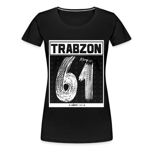 TRABZON - Frauen T-Shirt - Schwarz inkl. Rückenbeschriftung - Frauen Premium T-Shirt