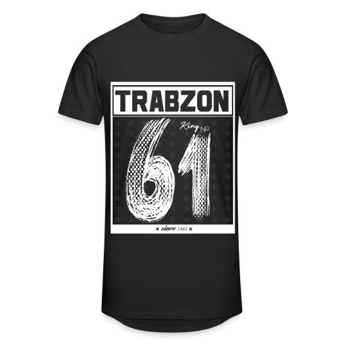 TRABZON - Urban T-Shirt - Lang - Schwarz inkl. Rückenbeschriftung - Männer Urban Longshirt