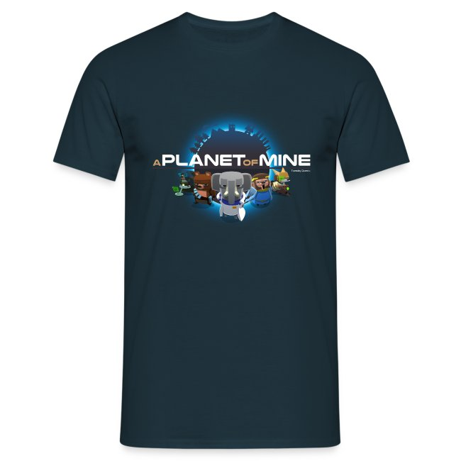 tshirt - A Planet of Mine - Man