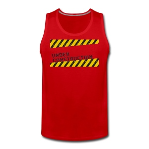 Mind and body red - Men's Premium Tank Top