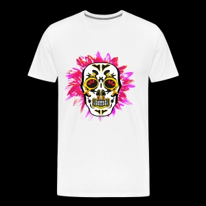 totenkopf mexican white red