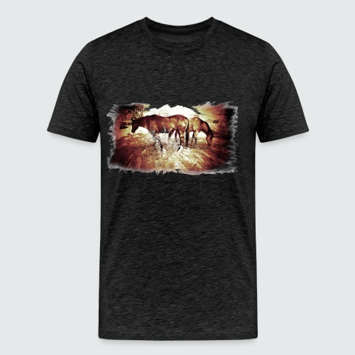 M-151-Horses - Männer Premium T-Shirt