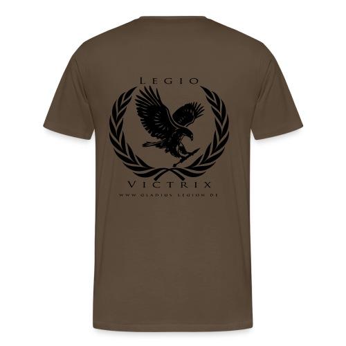 GL Team Shirt tan - Männer Premium T-Shirt