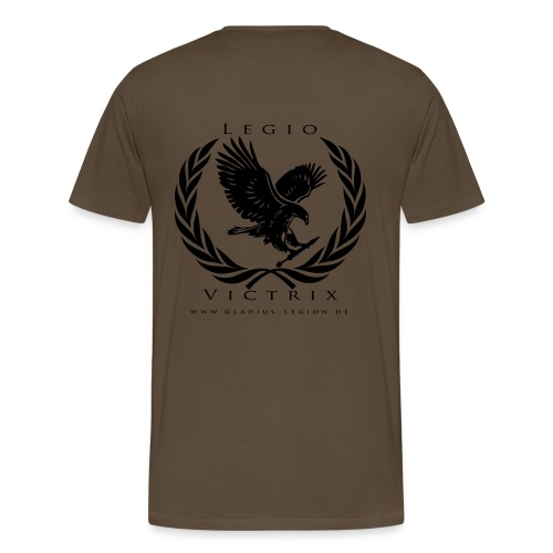 GL Team Shirt tan - Männer Premium T-Shirt