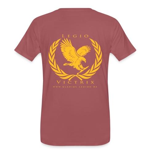 GL Team Shirt Burgunderrot - Männer Premium T-Shirt
