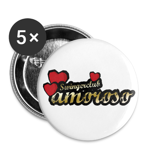 Buttons groß 56 mm (5er Pack)