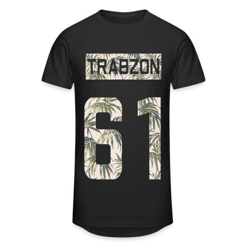 TRABZON 61 - Herren Tshirt - Lang - Schwarz - Männer Urban Longshirt