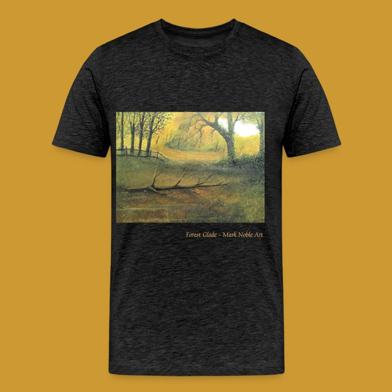 Forest Glade - Mark Noble Art - Men's Premium T-Shirt