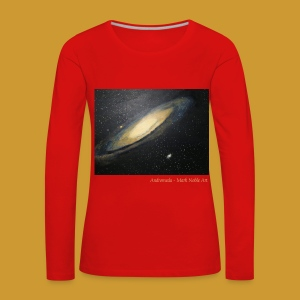 Andromeda - Mark Noble Art - Women's Premium Longsleeve Shirt