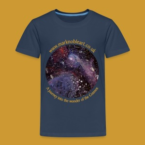 Journey into the Cosmos - Exhibition 2016 - Kids' Premium T-Shirt