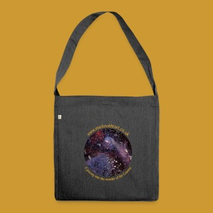 Journey into the Cosmos - Exhibition 2016 - Shoulder Bag made from recycled material