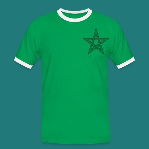 Maroc shirt by 11  - Mannen contrastshirt