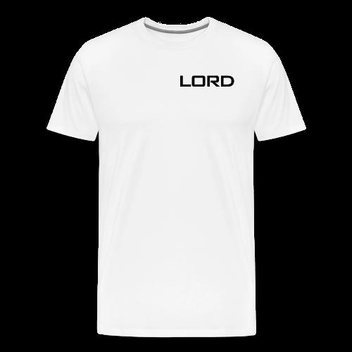 White LorD Mens TShirt - Men's Premium T-Shirt