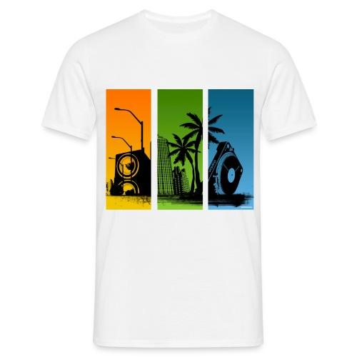 Stanton Turntable City Men Classic - Men's T-Shirt