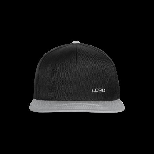 Black LorD SnapbAck - Snapback Cap