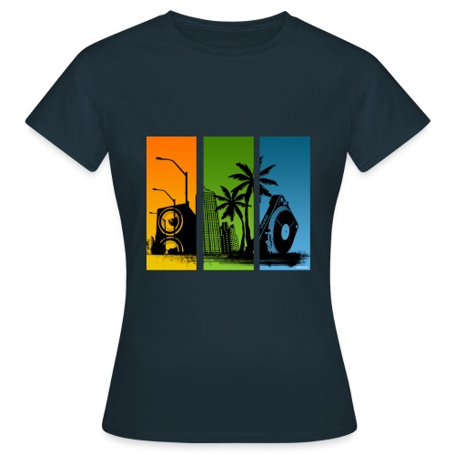 Stanton Turntable City Women Classic - Women's T-Shirt